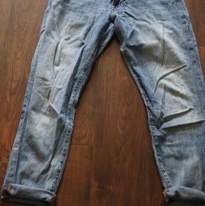 Boyfriend fit lucky brand jeans